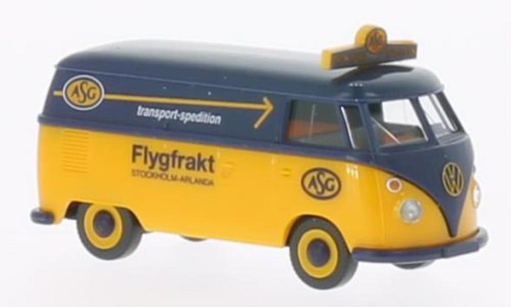 Volkswagen T1 1/87 Wiking Kastenwagen ASG miniature