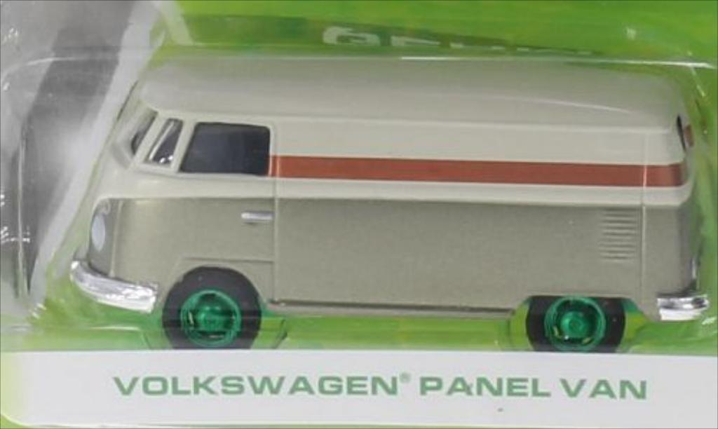 Volkswagen T1 1/64 Greenlight Kastenwagen Special Version beige/gold miniature