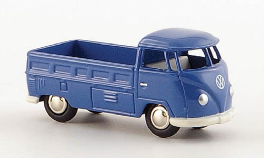 Volkswagen T1 1/87 Bub Pritsche bleu diecast model cars