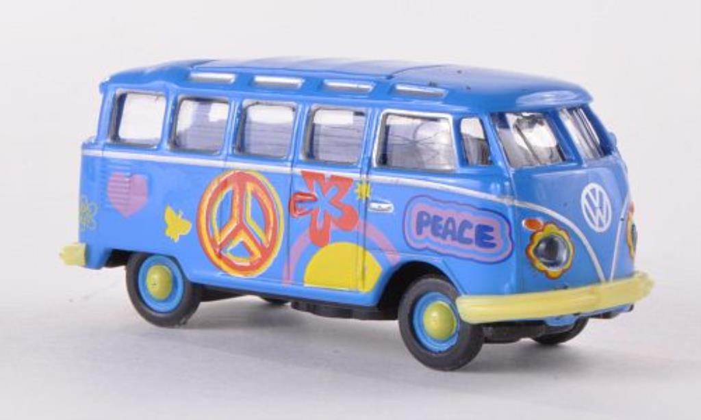 Volkswagen T1 1/87 Schuco Samba Flower Power diecast model cars