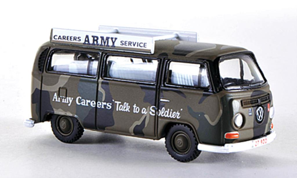 Volkswagen T2 1/76 Oxford Bus Army Careers (AUS) miniature