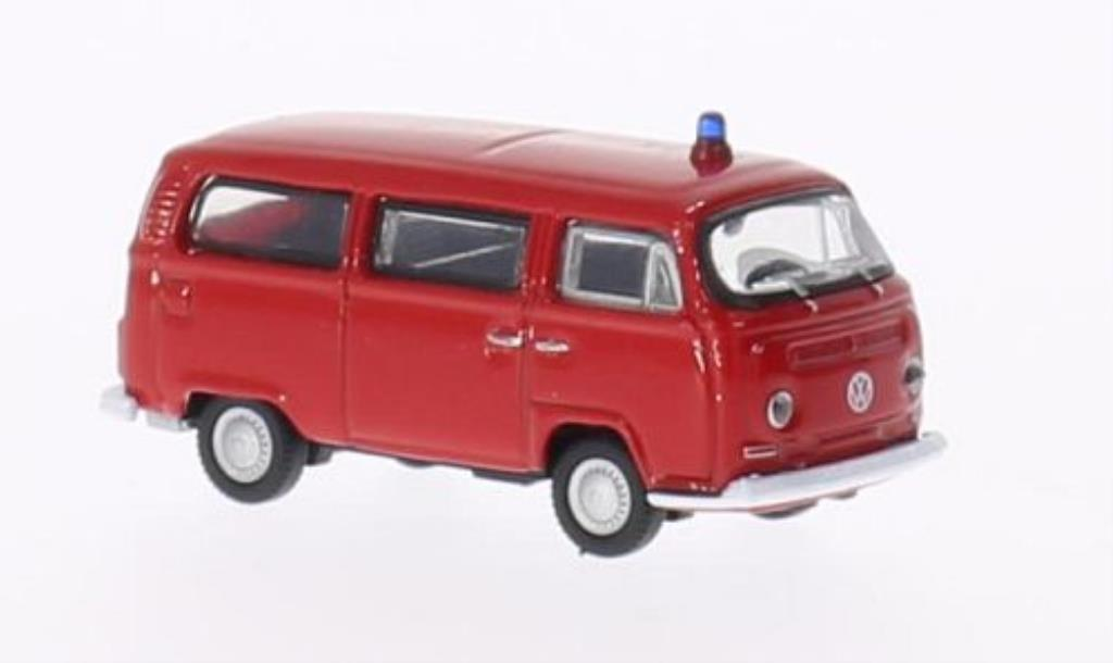 Volkswagen T2 1/87 Welly Bus Feuerwehr 1972 diecast model cars