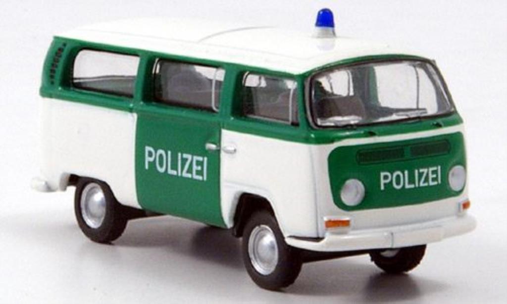 Volkswagen T2 1/87 Bub Bus Polizei diecast