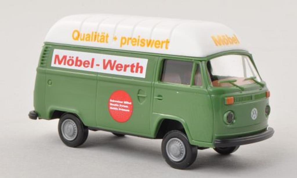 Volkswagen T2 1/87 Brekina Hochdach-Kasten Mobel Werth (CH) diecast model cars