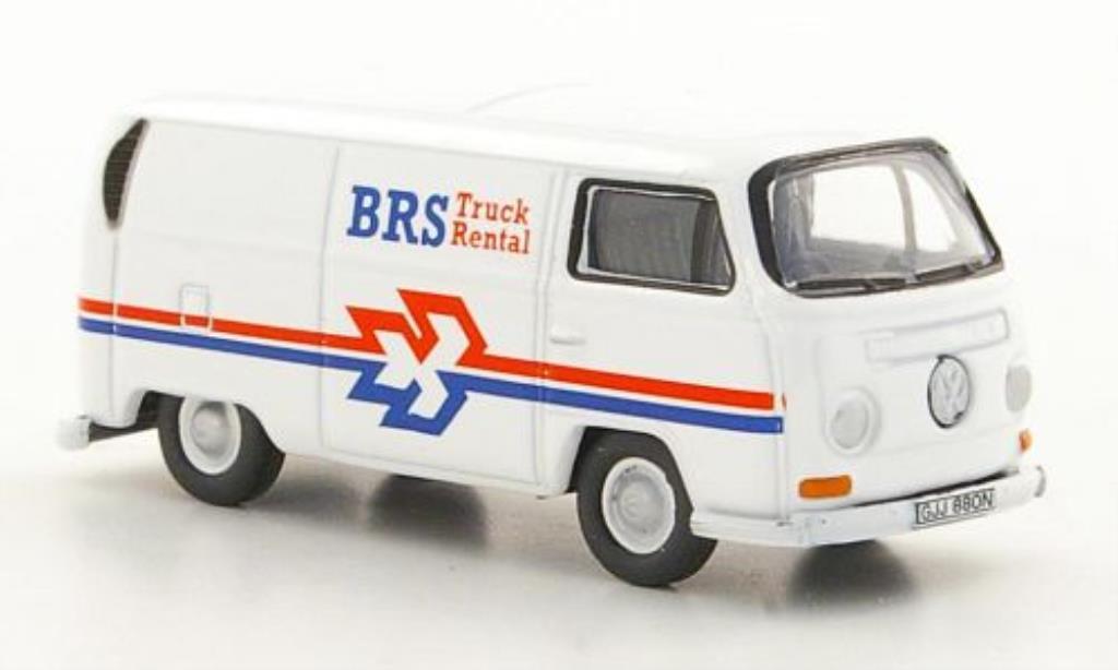 Volkswagen T2 1/76 Oxford Kasten B Truck Rental diecast