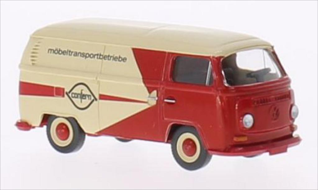 Volkswagen T2 1/87 Wiking Kasten Confern miniature