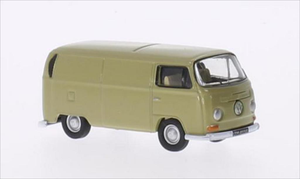 Volkswagen T2 1/76 Oxford Kasten beige RHD miniature