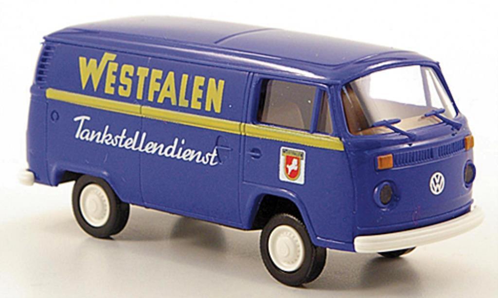 Volkswagen T2 1/87 Brekina Kasten Westfalen Tankstellendienst diecast