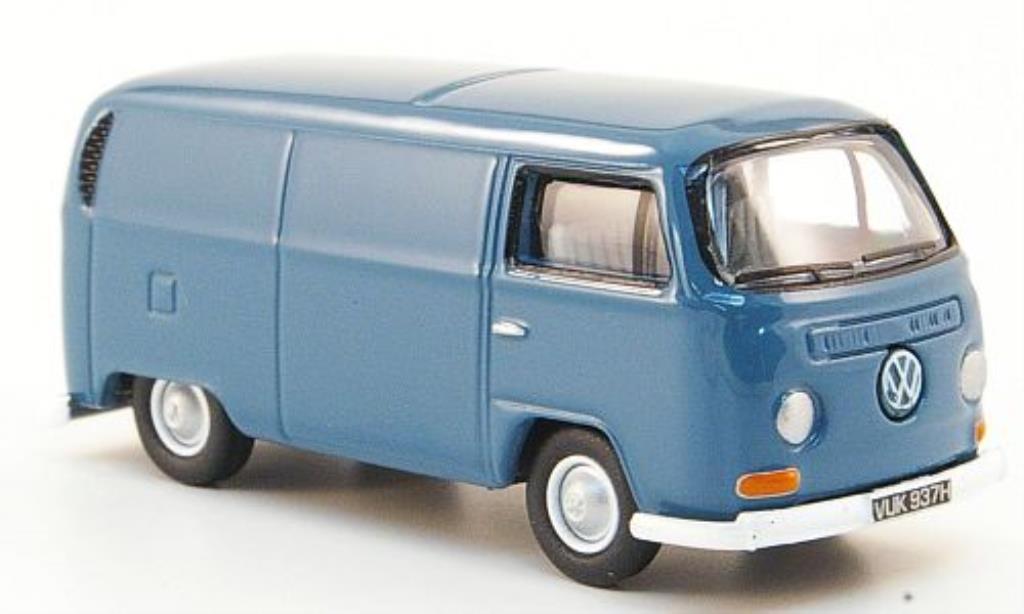 Volkswagen T2 1/76 Oxford Kastenwagen bleu diecast