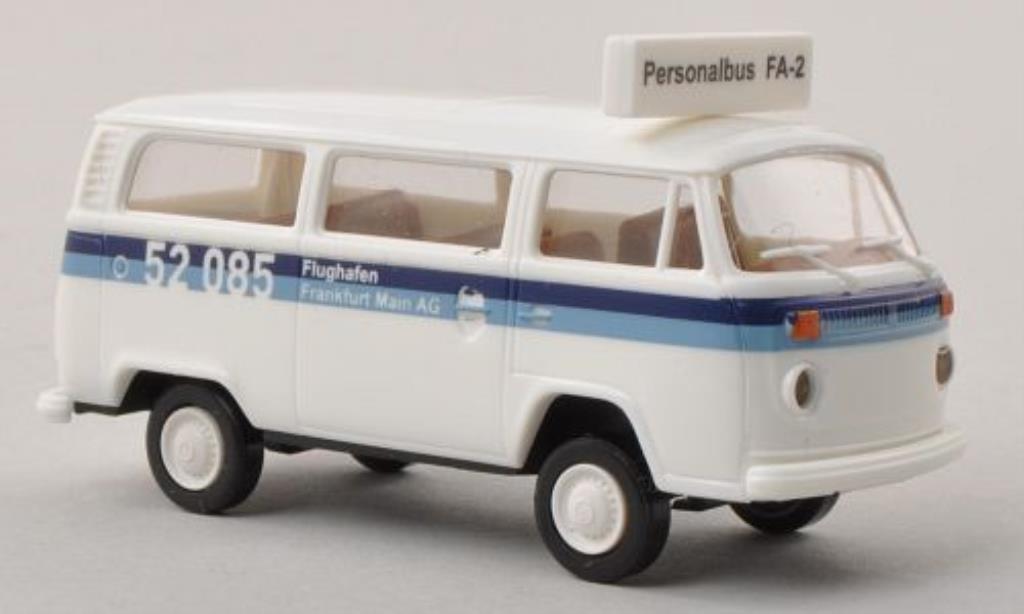 Volkswagen T2 1/87 Brekina Kombi Flughafen Frankfurt Main AG miniature