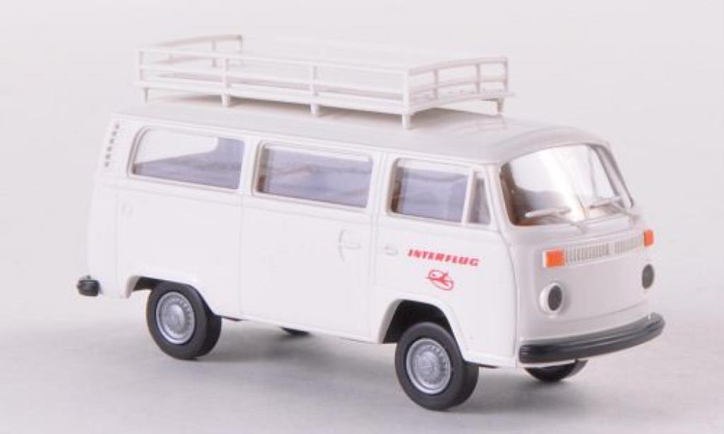 Volkswagen T2 1/87 Brekina Kombi Interflug diecast