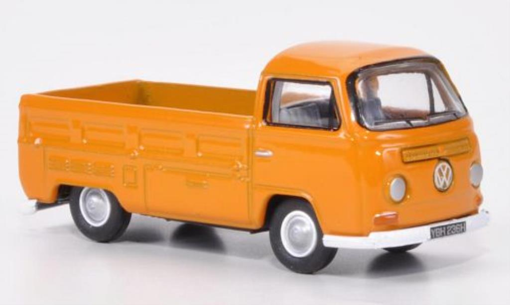 Volkswagen T2 1/76 Oxford Pritsche orange diecast