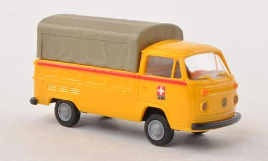 Volkswagen T2 1/87 Brekina Pritsche PTT (CH) miniature