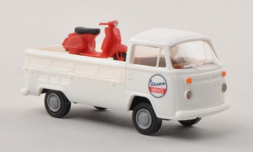 Volkswagen T2 1/87 Brekina Pritsche Vespa Service mit Ladegut miniature
