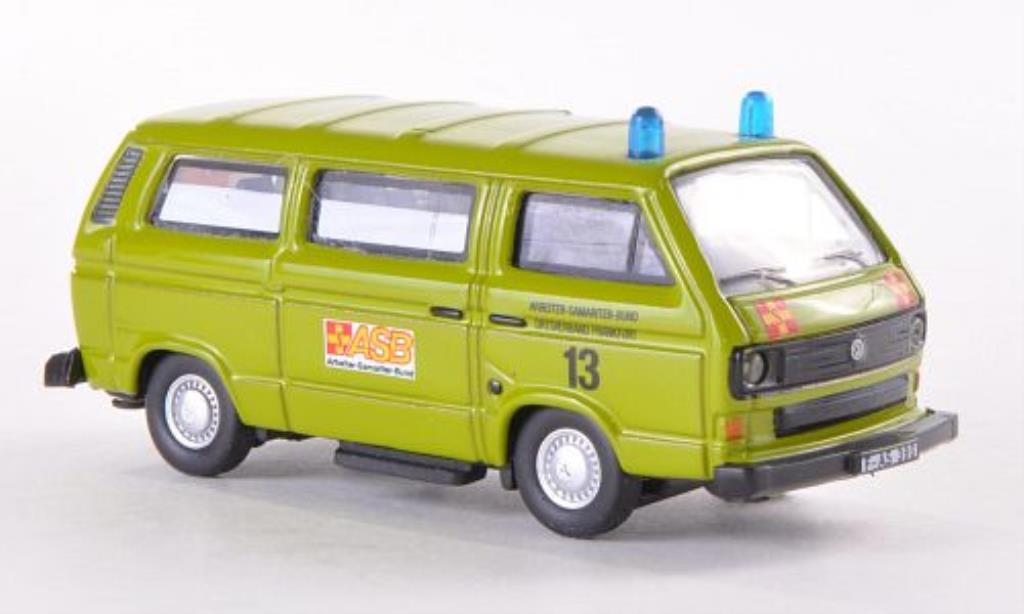 Volkswagen T3 1/87 Schuco Bus ASB diecast