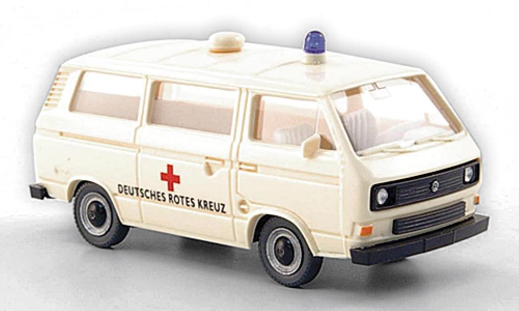 Volkswagen T3 1/87 Wiking Bus DRK - Deutsches redes Kreuz diecast