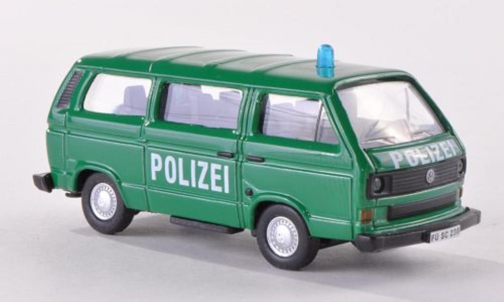 Volkswagen T3 1/87 Schuco Bus Polizei diecast