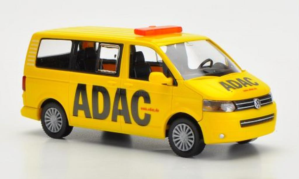 Volkswagen T5 1/87 Wiking Bus ADAC miniature