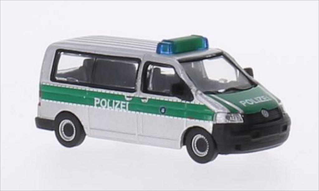 Volkswagen T5 1/87 Schuco Bus Polizei Bayern miniature