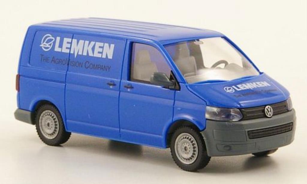 Volkswagen T5 1/87 Wiking GP Kastenwagen Lemken miniature
