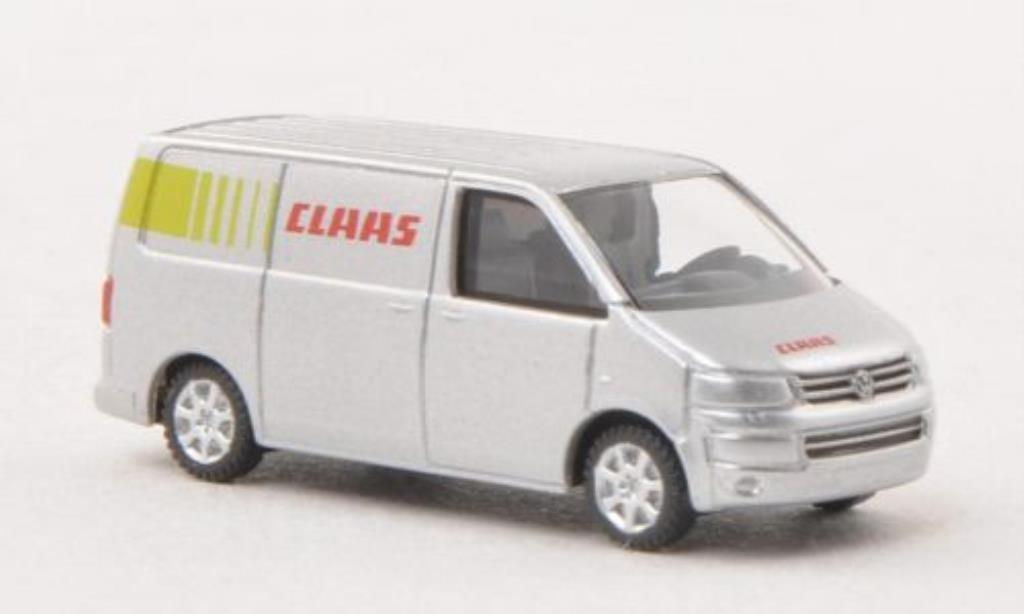Volkswagen T5 1/160 Wiking Kasten Claas miniature