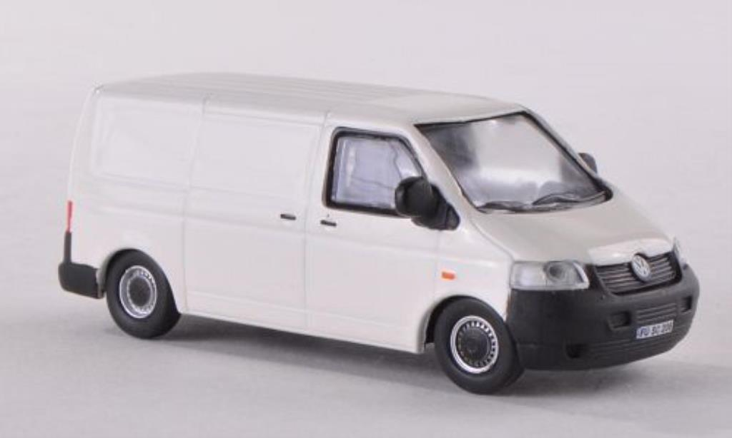 Volkswagen T5 1/87 Schuco Kasten blanche miniature