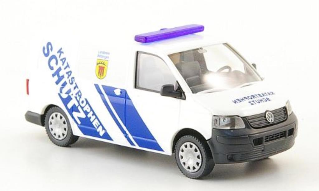Volkswagen T5 1/87 Wiking Kastenwagen Katastrophenschutz miniature
