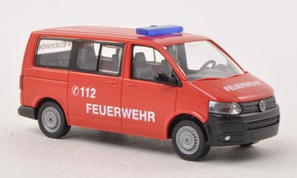 Volkswagen T5 1/87 Wiking Multivan Feuerwehr miniature
