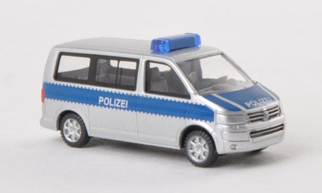 Volkswagen T5 1/160 Wiking Multivan Polizei miniature