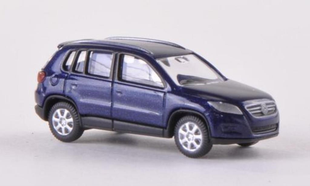 Volkswagen Tiguan 1/160 Wiking bleu miniature