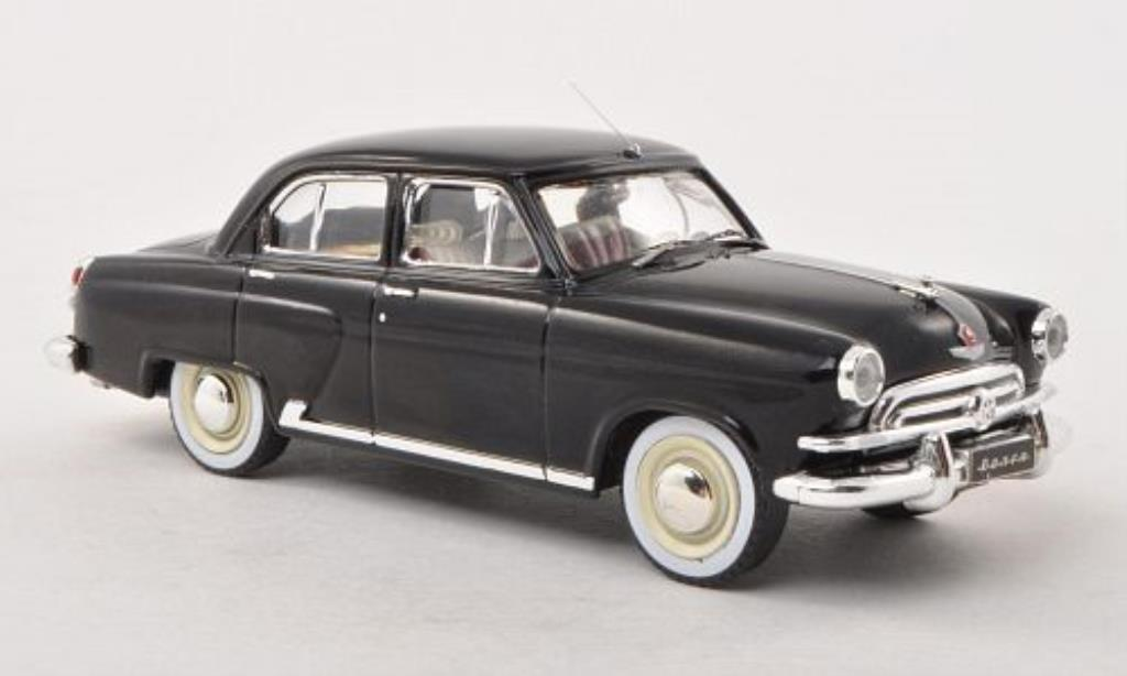 Wolga M21 1/43 IXO Serie 1 black 1956 diecast model cars