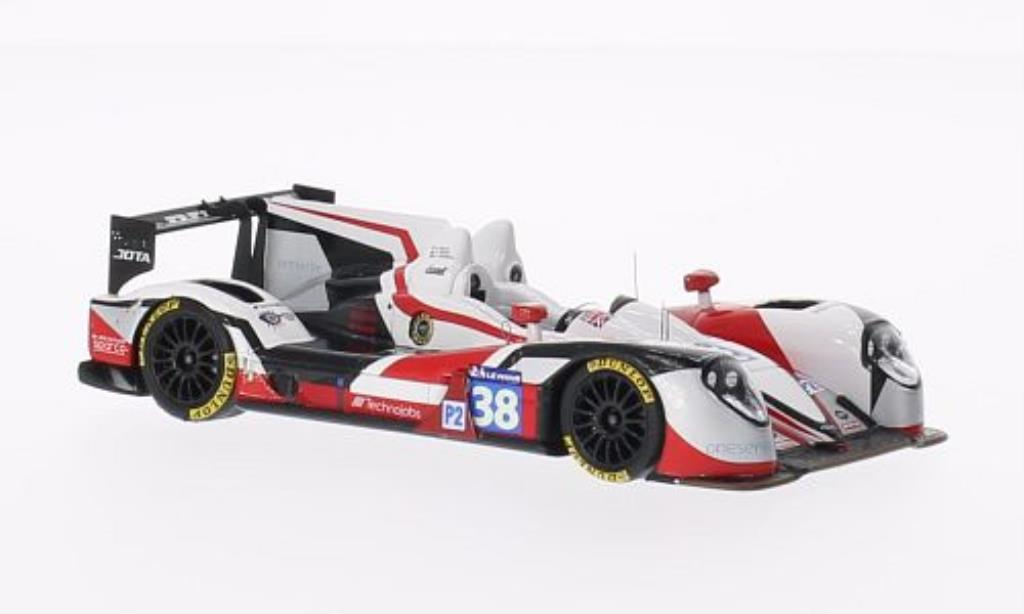 Zytek Z11SN 1/43 Spark Nissan No.38 Jota Sport 24h Le Mans 2014 /O.Turvey diecast model cars