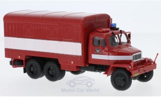 Praga V3S 1/43 Abrex Koffer Tschechische Feuerwehr 1967 miniature