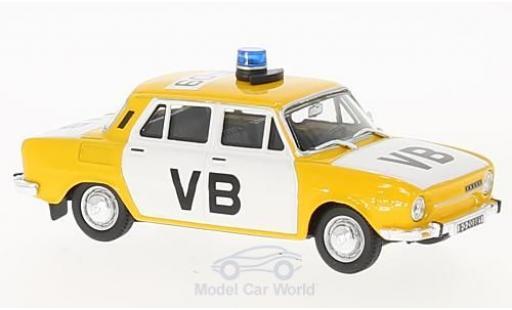 Skoda 110 1/43 Abrex L Polizei Tschechien 1973 diecast