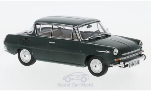 Skoda 110 1/43 Abrex 0MBX verte 1969 miniature