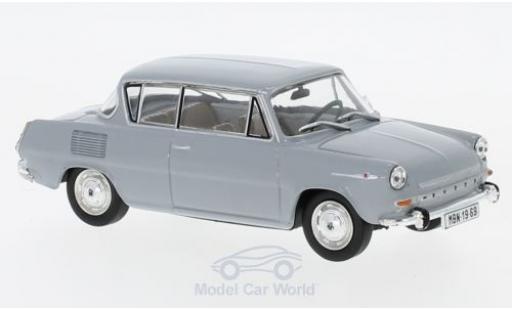 Skoda 110 1/43 Abrex 0MBX grise 1969 miniature
