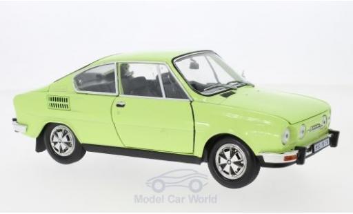 Skoda 110 1/18 Abrex R Coupe verte 1980 miniature