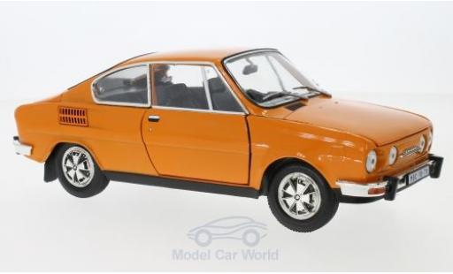 Skoda 110 1/18 Abrex R Coupe orange 1980 miniature