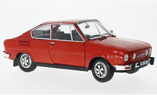 Skoda 110 1/18 Abrex R Coupe rouge 1980 miniature