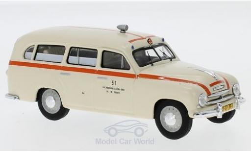 Skoda 120 1/43 Abrex 1 1956 Rettungswagen miniature