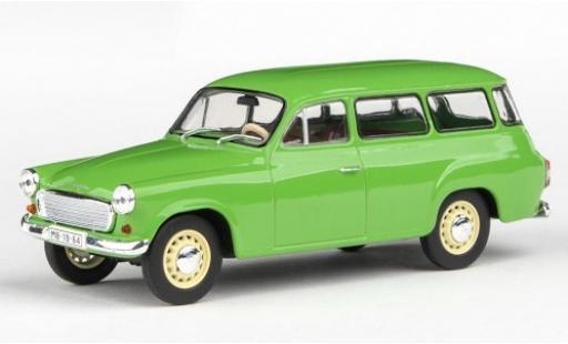 Skoda 120 1/43 Abrex 2 verte 1964 miniature