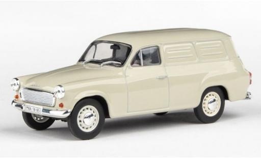 Skoda 120 1/43 Abrex 2 Kasten beige 1965 miniature