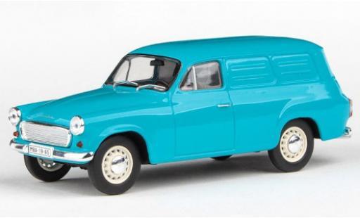 Skoda 120 1/43 Abrex 2 Kasten turquoise 1965 miniature