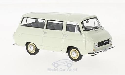 Skoda 1203 1/43 Abrex Mikrobus blanche 1974 miniature