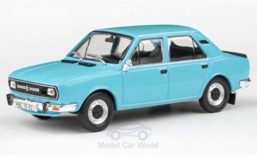 Skoda 120 1/43 Abrex L bleue 1982 miniature