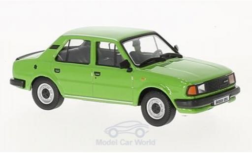 Skoda 120 1/43 Abrex L verte 1984 miniature