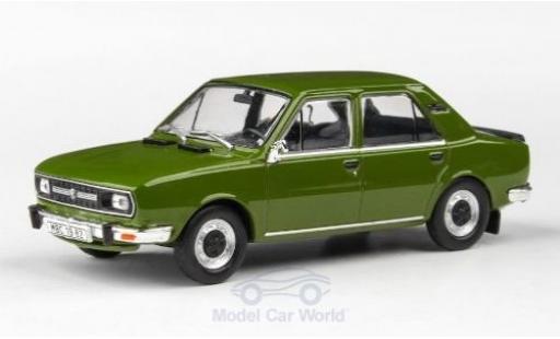 Skoda 120 1/43 Abrex L oliv 1982 miniature