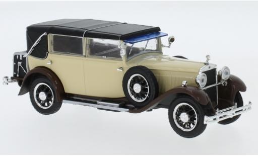 Skoda 860 1/43 Abrex beige/marron 1932 miniature