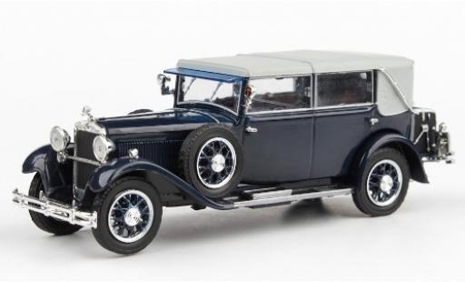 Skoda 860 1/43 Abrex bleue 1932 miniature