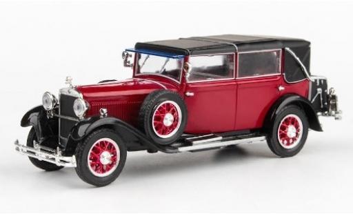 Skoda 860 1/43 Abrex rouge/noire RHD 1932 miniature